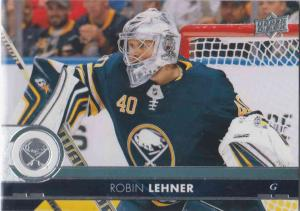 Robin Lehner - Buffalo Sabres 2017-2018 Upper Deck s2 #273