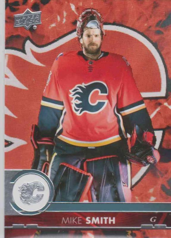 Mike Smith - Calgary Flames 2017-2018 Upper Deck s2 #279