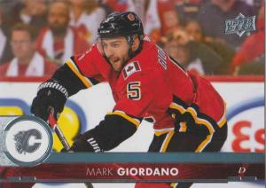 Mark Giordano - Calgary Flames 2017-2018 Upper Deck s2 #280