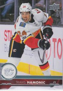 Travis Hamonic - Calgary Flames 2017-2018 Upper Deck s2 #281