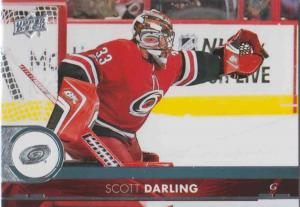 Scott Darling - Carolina Hurricanes 2017-2018 Upper Deck s2 #283