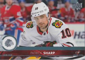 Patrick Sharp - Chicago Blackhawks 2017-2018 Upper Deck s2 #289