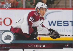 Matt Nieto - Colorado Avalanche 2017-2018 Upper Deck s2 #298