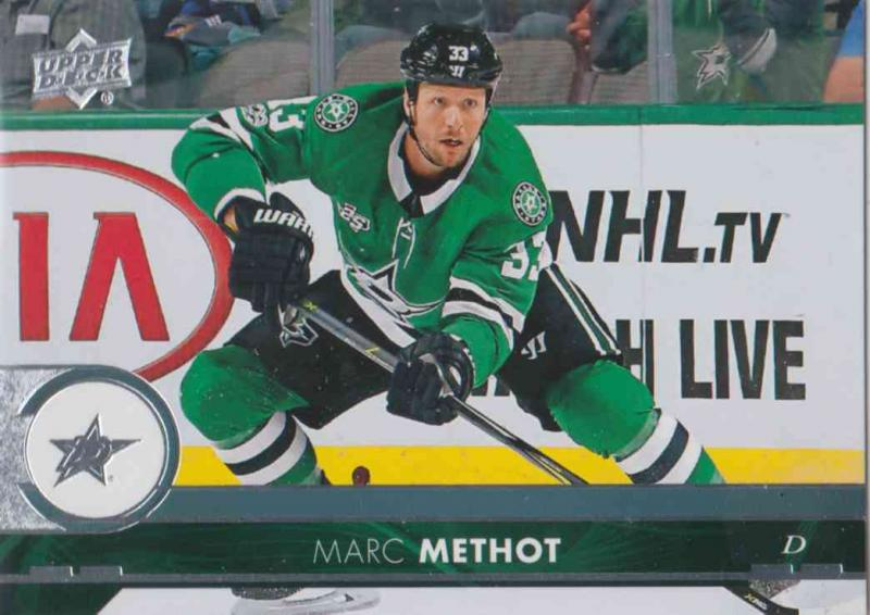 Marc Methot - Dallas Stars 2017-2018 Upper Deck s2 #307