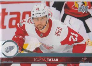 Tomas Tatar - Detroit Red 2017-2018 Upper Deck s2 #315