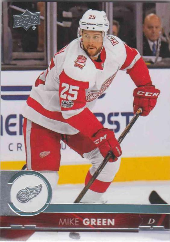 Mike Green - Detroit Red 2017-2018 Upper Deck s2 #318
