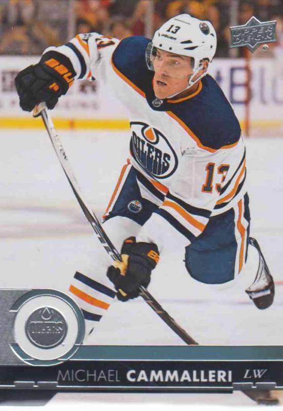 Michael Cammalleri - Edmonton Oilers 2017-2018 Upper Deck s2 #319