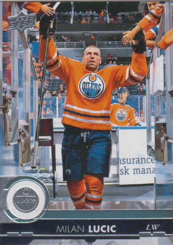 Milan Lucic - Edmonton Oilers 2017-2018 Upper Deck s2 #325