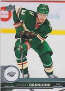 Mikael Granlund - Minnesota Wild 2017-2018 Upper Deck s2 #342