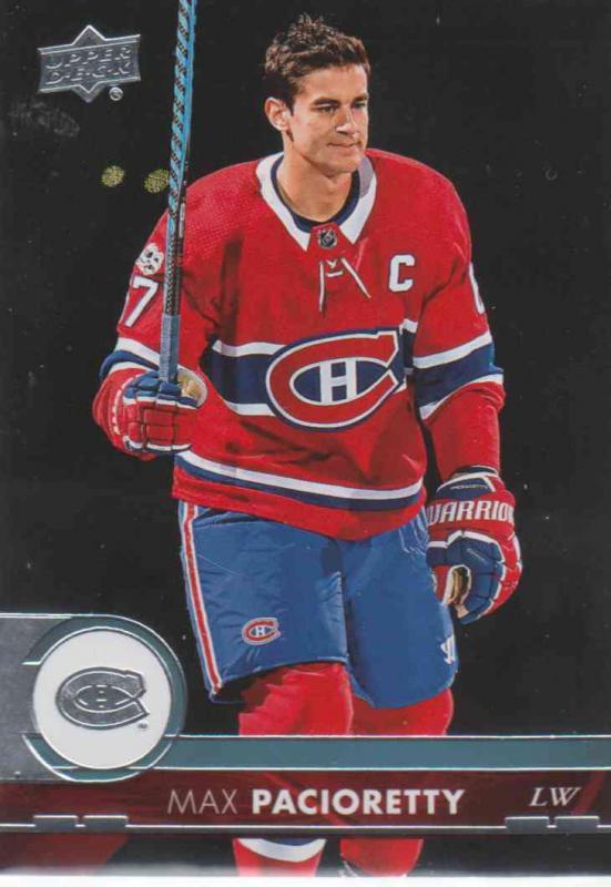 Max Pacioretty - Montreal Canadiens 2017-2018 Upper Deck s2 #346