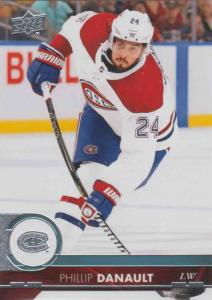 Phillip Danault - Montreal Canadiens 2017-2018 Upper Deck s2 #352