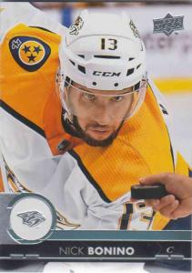 Nick Bonino - Nashville Predators 2017-2018 Upper Deck s2 #354