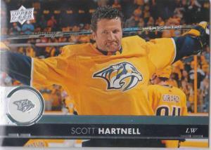 Scott Hartnell - Nashville Predators 2017-2018 Upper Deck s2 #359