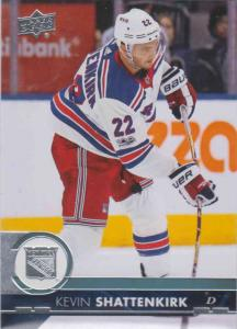 Kevin Shattenkirk - New York 2017-2018 Upper Deck s2 #378