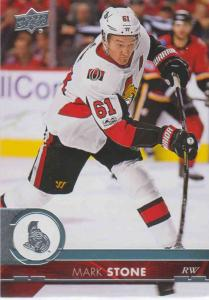 Mark Stone - Ottawa Senators 2017-2018 Upper Deck s2 #384