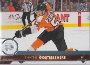 Shayne Gostisbehere - Philadelphia Flyers 2017-2018 Upper Deck s2 #387