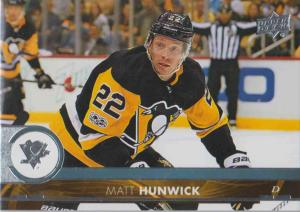 Matt Hunwick - Pittsburgh Penguins 2017-2018 Upper Deck s2 #392