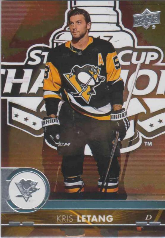 Kris Letang - Pittsburgh Penguins 2017-2018 Upper Deck s2 #393