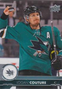 Logan Couture - San Jose 2017-2018 Upper Deck s2 #402