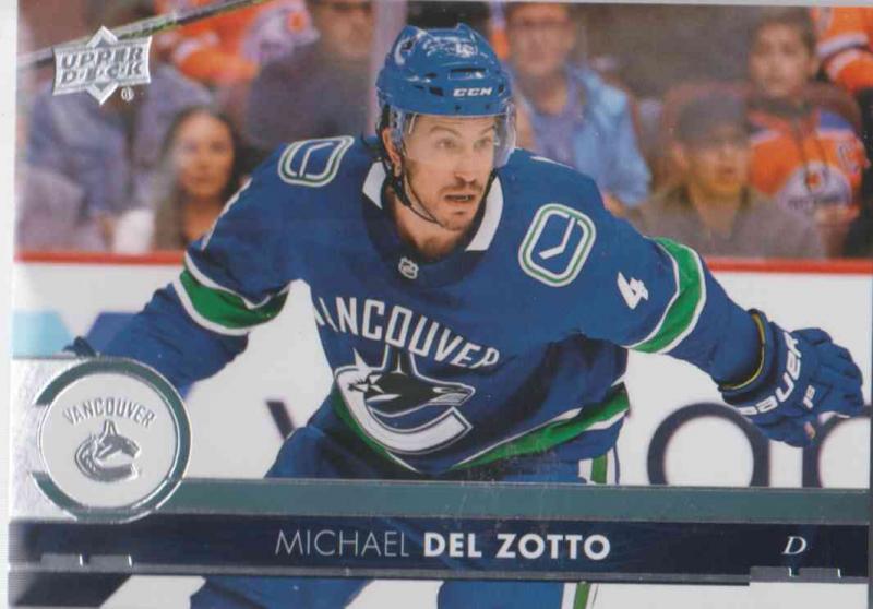 Michael Del  Zotto - Vancouver Canucks 2017-2018 Upper Deck s2 #425