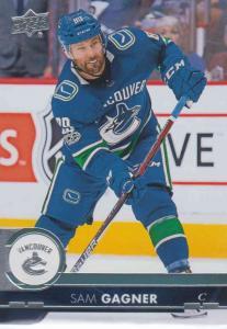 Sam Gagner - Vancouver Canucks 2017-2018 Upper Deck s2 #427