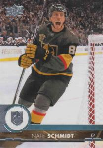 Nate Schmidt - Vegas Golden 2017-2018 Upper Deck s2 #430