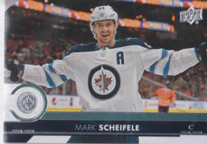 Mark Scheifele - Winnipeg Jets 2017-2018 Upper Deck s2 #443