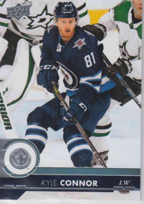Kyle Connor - Winnipeg Jets 2017-2018 Upper Deck s2 #446