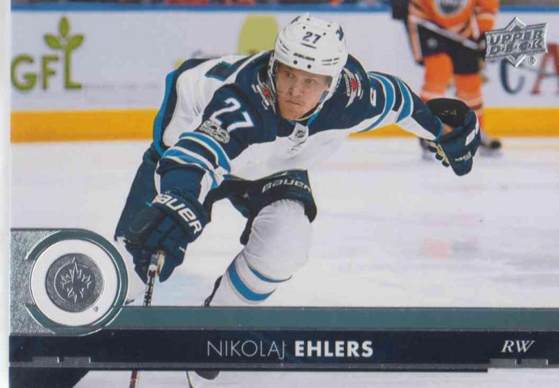 Nikolaj Ehlers - Winnipeg Jets 2017-2018 Upper Deck s2 #447