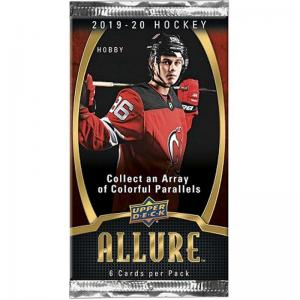 1 Pack 2019-20 Upper Deck Allure Hobby
