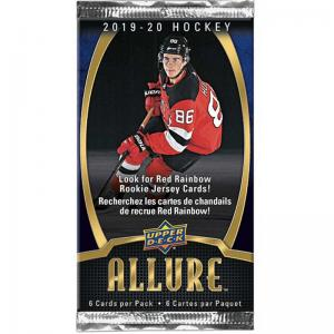 1 Pack 2019-20 Upper Deck Allure Retail