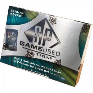 Hel Box 2019-20 Upper Deck SP Game Used