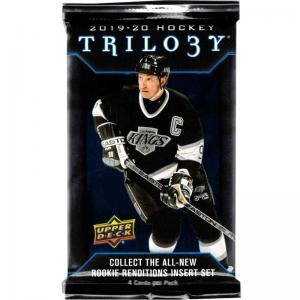 1 Pack 2019-20 Upper Deck Trilogy