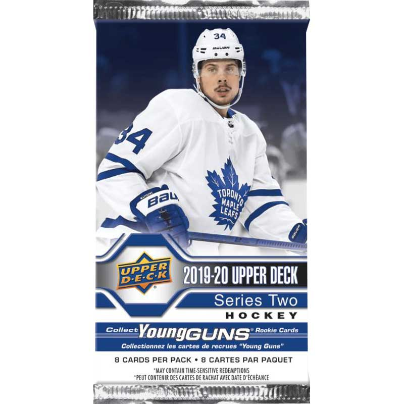 1st Paket 2019-20 Upper Deck Series 2 Retail