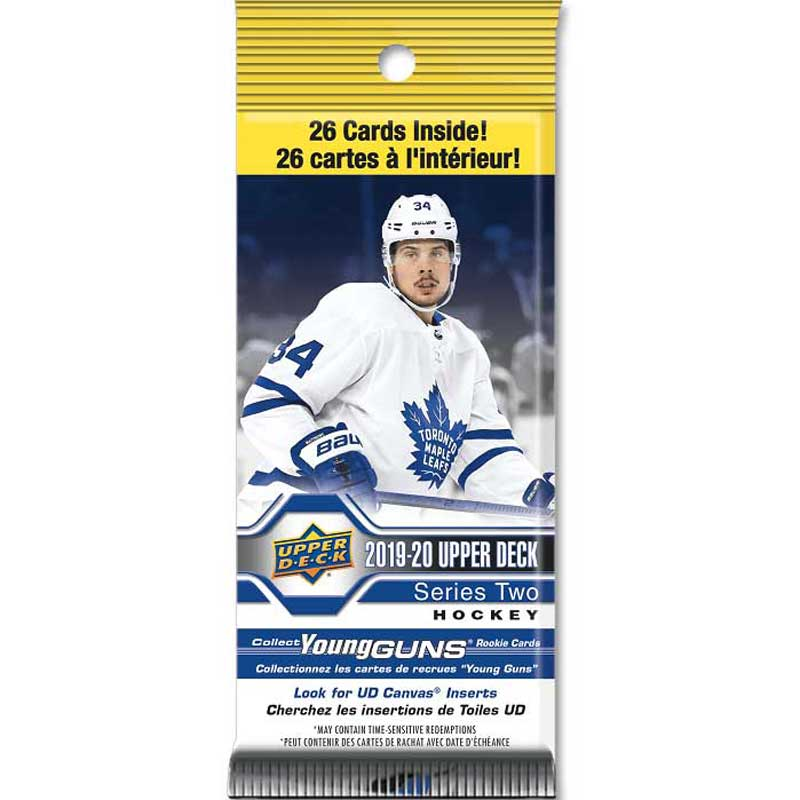 1 Fat Pack 2019-20 Upper Deck Series 2 Fat Pack