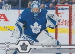 Frederik Andersen - Toronto Maple Leafs 2019-2020 Upper Deck s1 #007