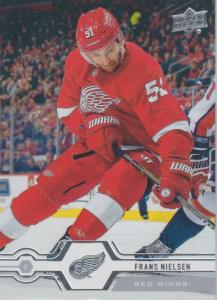 Frans Nielsen - Detroit Red Wings 2019-2020 Upper Deck s1 #029