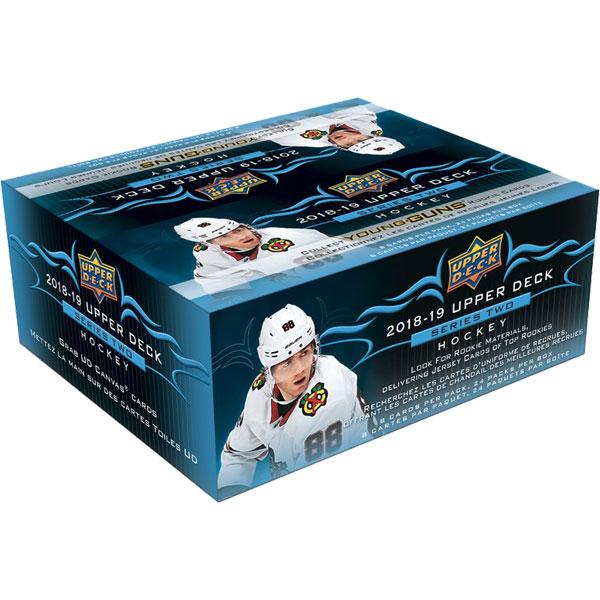 Sealed Box 2018-19 Upper Deck Series 2 Retail
