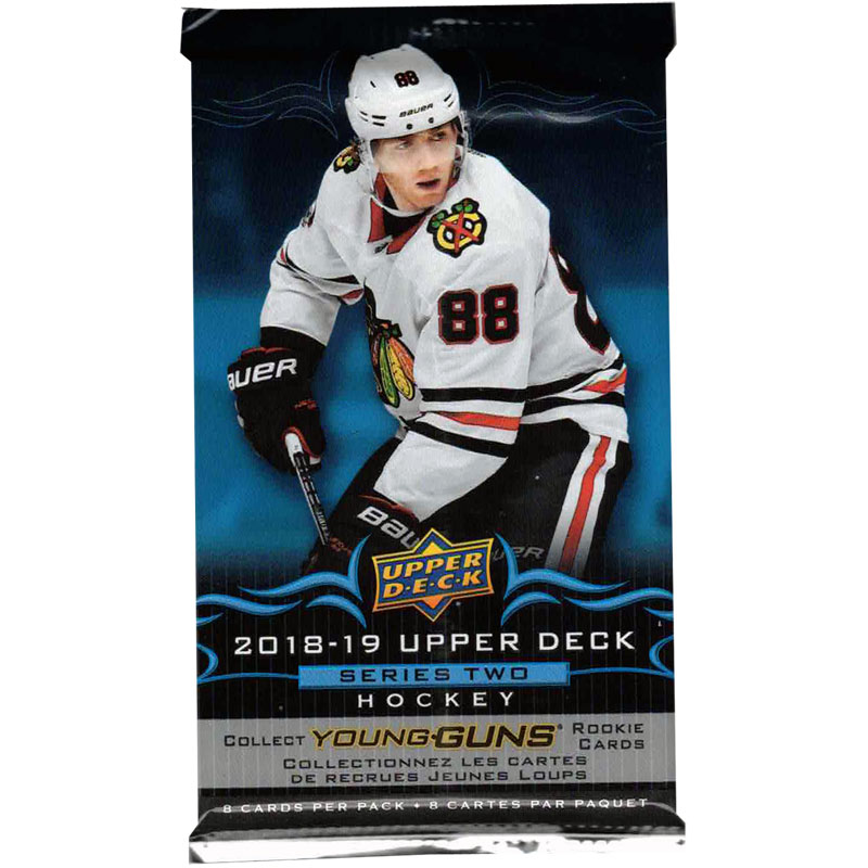 1 Pack 2018-19 Upper Deck Serie 2 Retail