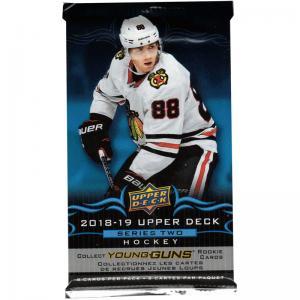 1st Paket 2018-19 Upper Deck Serie 2 Retail