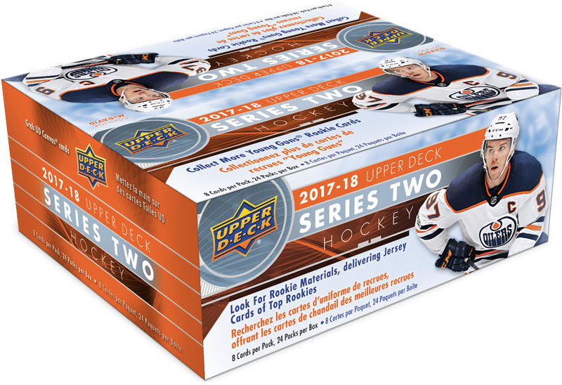 Hel Box 2017-18 Upper Deck Series 2 Retail