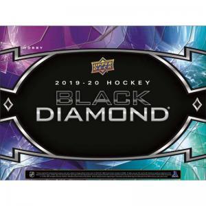 Sealed Box 2019-20 Upper Deck Black Diamond
