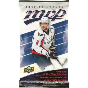 1 Pack 2017-18 Upper Deck MVP Retail