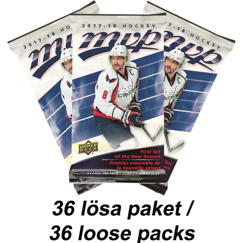 36 Packs 2017-18 Upper Deck MVP Retail
