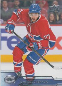 Alex Galchenyuk - Montreal Canadiens  2016-2017 Upper Deck s.1 #099