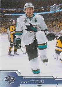 Logan Couture - San Jose Sharks 2016-2017 Upper Deck s.1 #152
