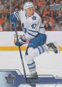 Leo Komarov - Toronto Maple Leafs 2016-2017 Upper Deck s.1 #173
