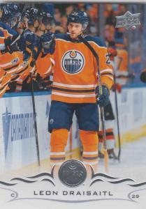 Leon Draisaitl - Edmonton Oilers  2018-2019 Upper Deck s.1 #076