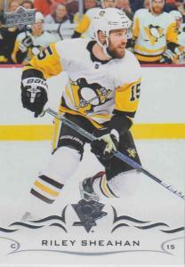 Riley Sheahan - Pittsburgh Penguins  2018-2019 Upper Deck s.1 #140