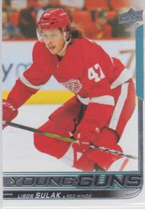 Libor Sulak - Detroit Red Wings 2018-2019 Upper Deck s.1 Young Guns RC #227